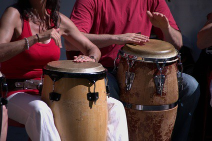 Another African drumming workshop