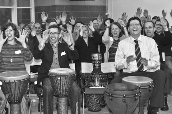 Photo of a drumming energiser
