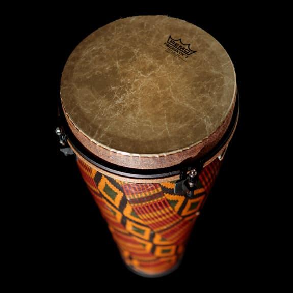 Remo drum close-up